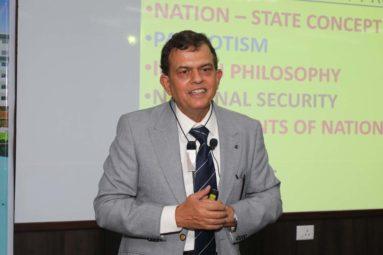 Talk by Lt. Gen. P G Kamath, Veteran General, Indian Army