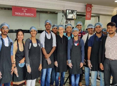 Industrial Visit to ISKCON